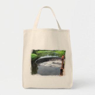 Tack Pond Dam ~ Grocery bag