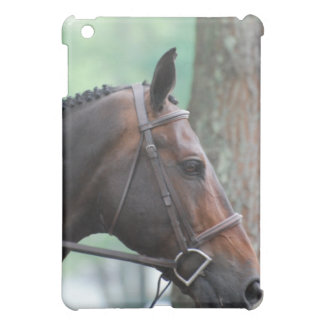 Tacked Dark Bay Horse iPad Case