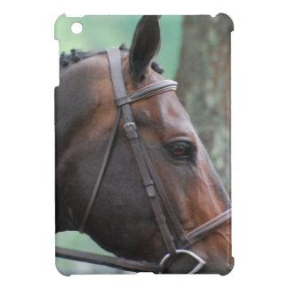 Tacked Dark Bay Horse Cover For The iPad Mini