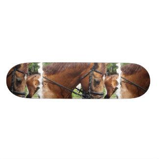 Tacked Draft Horse Skateboard