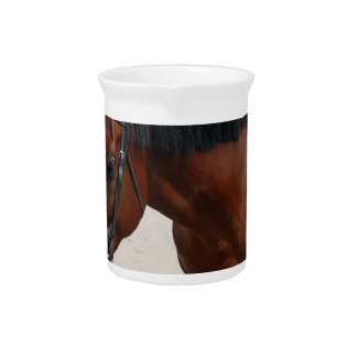 Tacked Horse Pitcher