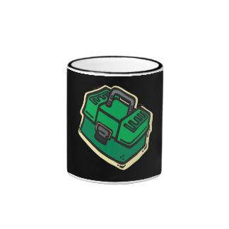 Tackle Box 2 Ringer Coffee Mug
