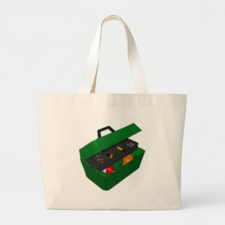 Tackle Box Tote Bags