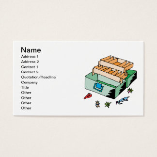 Tackle Box Business Card