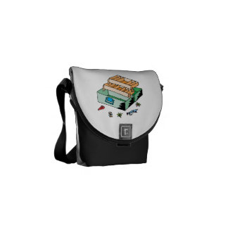 Tackle Box Courier Bag