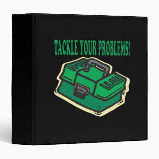 Tackle Your Problems 3 Ring Binder