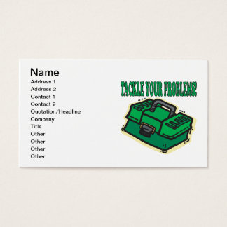 Tackle Your Problems Business Card