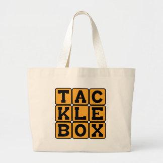 Tacklebox, Fisherman's Tool Kit Tote Bags