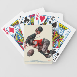 Tackled Poker Cards