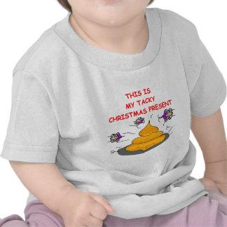tacky christmas present tee shirt