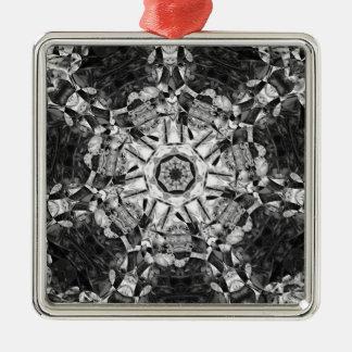 Tacky Pattern Feb 2013 Metal Ornament