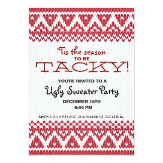 Tacky Sweater Party Invitations