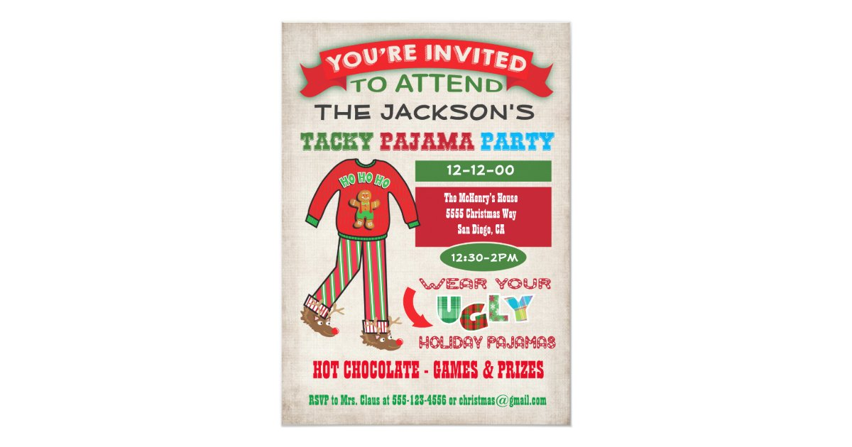 Adult Christmas Party Invitations & Announcements | Zazzle