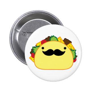 taco 2 inch round button