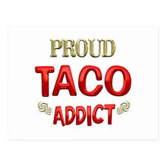 Taco Addict Postcard