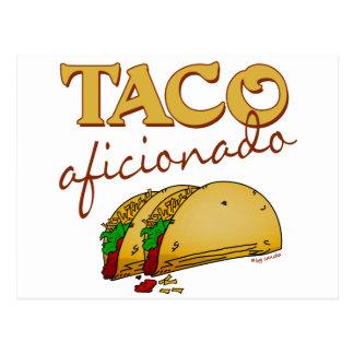 Taco Aficionado Postcard