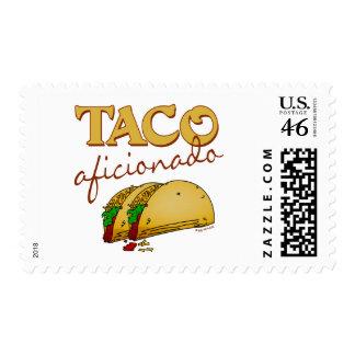Taco Aficionado Stamp
