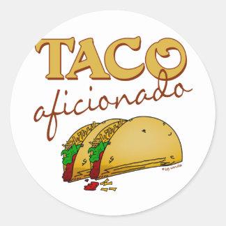 Taco Aficionado Stickers