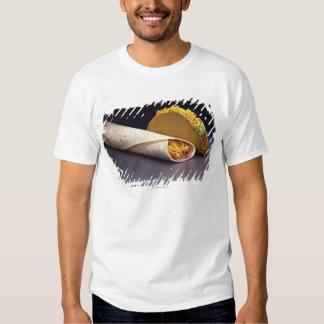 Taco and bean burrito T-Shirt