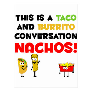 Taco and Burrito Business Postcard