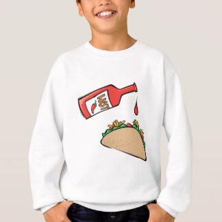 Taco and Hot Sauce Sweatshirt