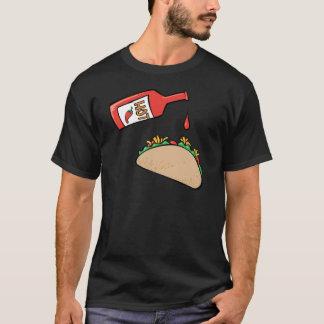 Taco and Hot Sauce T-Shirt