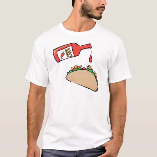 Taco and Hot Sauce T-Shirt