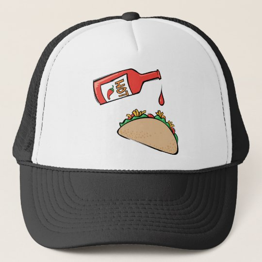 Taco and Hot Sauce Trucker Hat