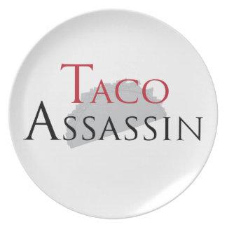 Taco Assassin Plate
