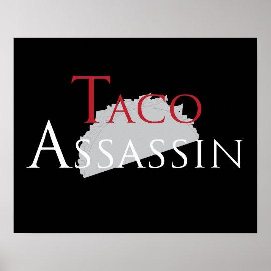 Taco Assassin Poster