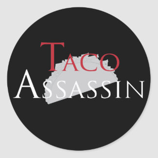 Taco Assassin Stickers