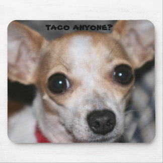 taco bell dog mouse pad