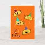 Taco Birthday Card