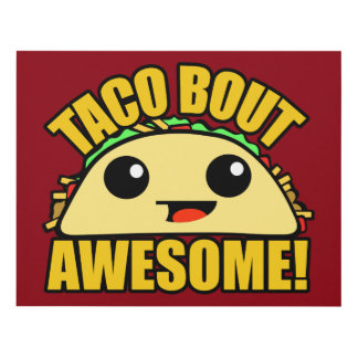 Taco Bout Awesome Panel Wall Art