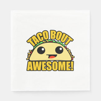 Taco Bout Awesome Paper Napkin