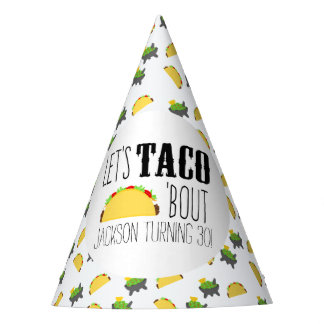 Taco 'Bout Birthday Party Party Hat