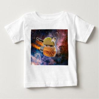 taco catand rockethamburger in the universe baby T-Shirt