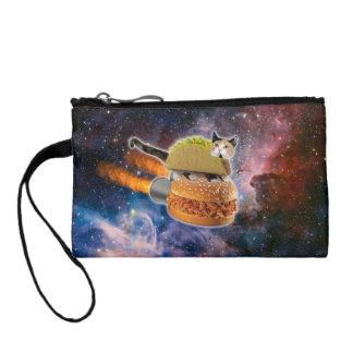 taco cat and rocket hamburger in the universe change purse