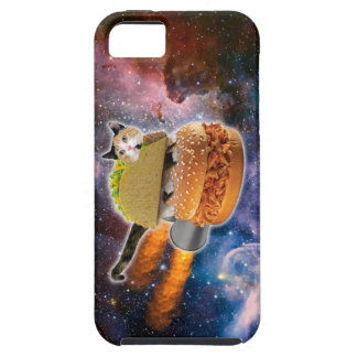 taco catand rockethamburger in the universe iPhone SE/5/5s case
