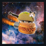 "taco cat&#160;and rocket&#160;hamburger in the universe photo print<br><div class=""desc"">funny cats , tabby cat , cute kittens , cute cats, space cat , meme  taco space cosmic , rocket galaxy hamburger cool,  stars cosmos kitty universe,  kitten nebula stellar feline , green eyes</div>"
