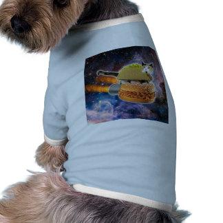taco catand rockethamburger in the universe T-Shirt