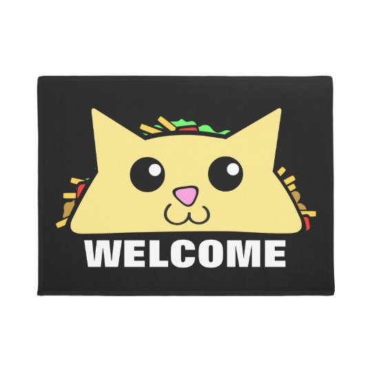 Taco Cat Doormat  sc 1 st  Zazzle & Taco Cat Doormat | Zazzle.com pezcame.com