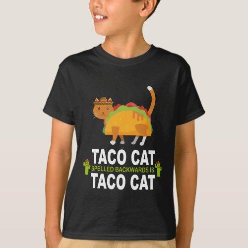 Taco Cat Spelled Backwards Is Taco Cat Shirt