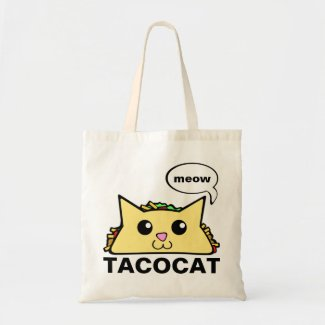 Taco Cat Tote Bag