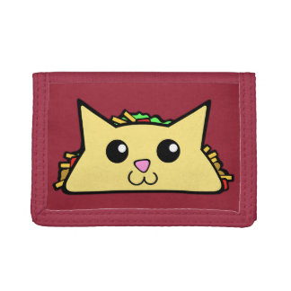 Taco Cat Trifold Wallet