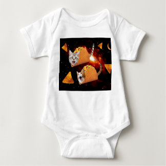 Taco Cats Space Baby Bodysuit