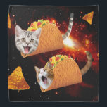 "Taco Cats Space Bandana<br><div class=""desc"">pussy , cat , cats , galaxy , cool , funny , space , taco , tacos , cosmos , pet , kitten , kittens , cute , burrito , ""bengal cats"" , universe , ""funny cat"" , meow , ""cat meme"" , adorable , feline , lolcats , ""space cat...</div>"