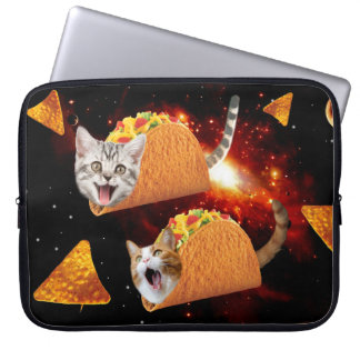 Taco Cats Space Computer Sleeve