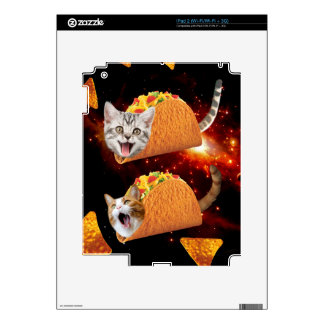 Taco Cats Space Decals For iPad 2