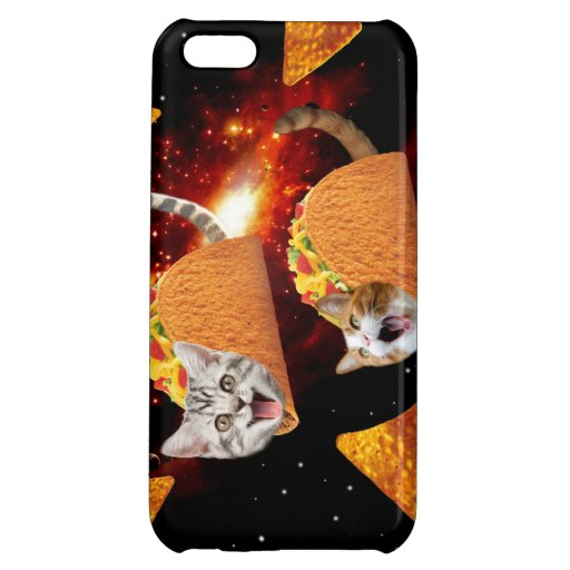 Taco Cats Space iPhone 5C Case